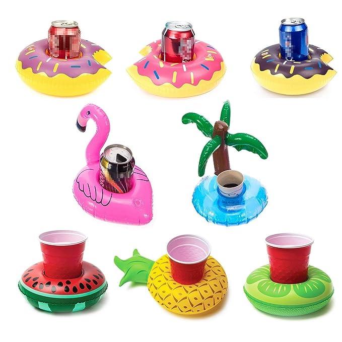 Lvcky - Soporte Hinchable para Bebidas, diseño de Flamenco ...