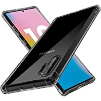 DN-Technology Samsung Galaxy Note 10 Plus Case Cover,[Gel] [Slim] [Clear] [Hybrid] [Silicone] [Transparent] [Drop Proof] [Bumper] [Dust Proof] [Slim] [TPU] Samsung Galaxy Note 10 Plus Case