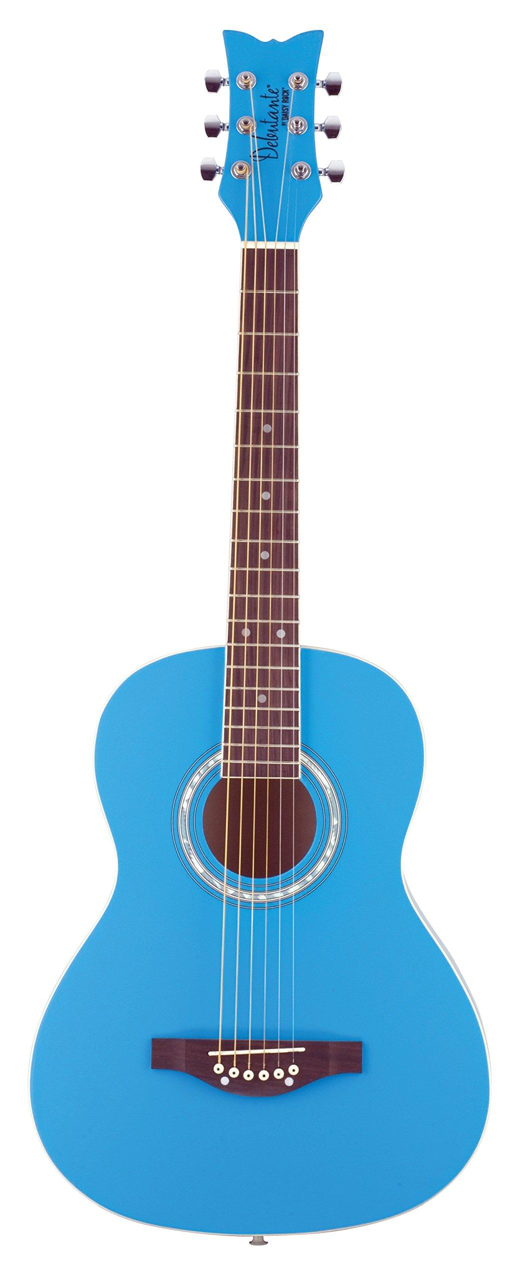 Daisy Rock Debutante Jr. Miss Acoustic Short Scale Cotton Candy Blue Guitar by Daisy Rock (Image #1)