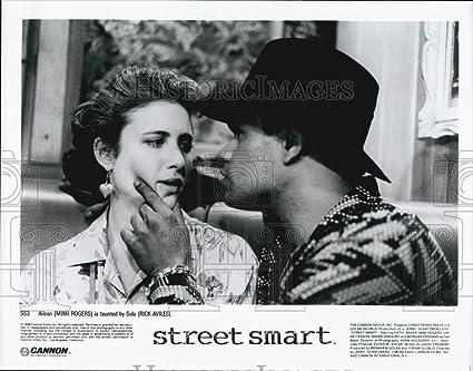 Amazoncom 1986 Press Photo Actress Mimi Rogers Actor Rick Aviles
