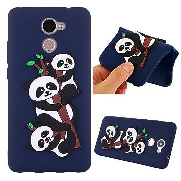 Ooboom® Huawei Y7 Funda 3D Panda TPU Silicona Caucho Suave ...