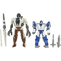 "Transformers - Generations - Kingdom Battle Across Time Collection - 5.5"" WFC-K40 Autobot Mirage & Maximal Grimlock…"