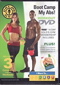 Gold's Gym Boot Camp My Abs Workout DVD