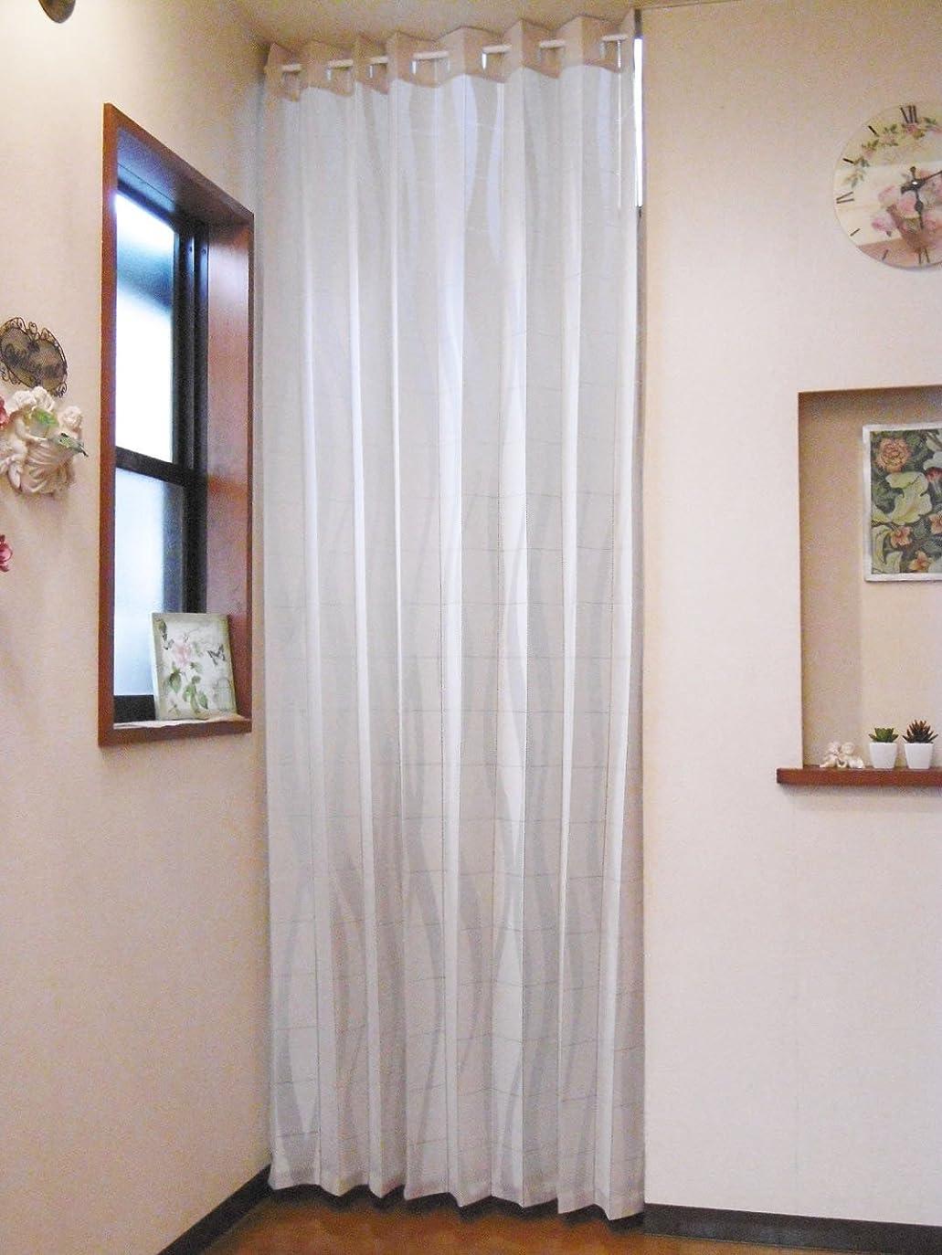 州余剰オペラ遮光 のれん 暖簾 部屋間仕切り 夏 花 葉 室内インテリア 開運のれん、洗濯可 突っ張り棒付き 幅86cm×丈143cm