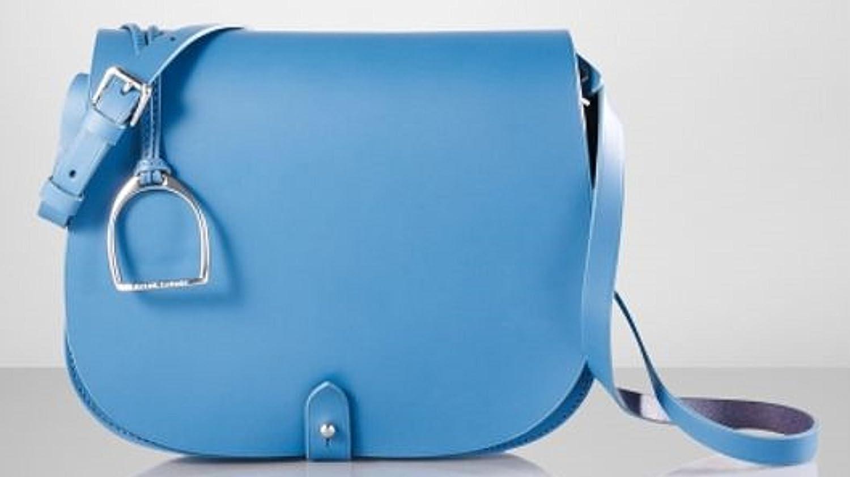aee3cf59f375 Lauren by Ralph Lauren Equestrian Vachetta Cross Body Saddle Bag  Handbags   Amazon.com