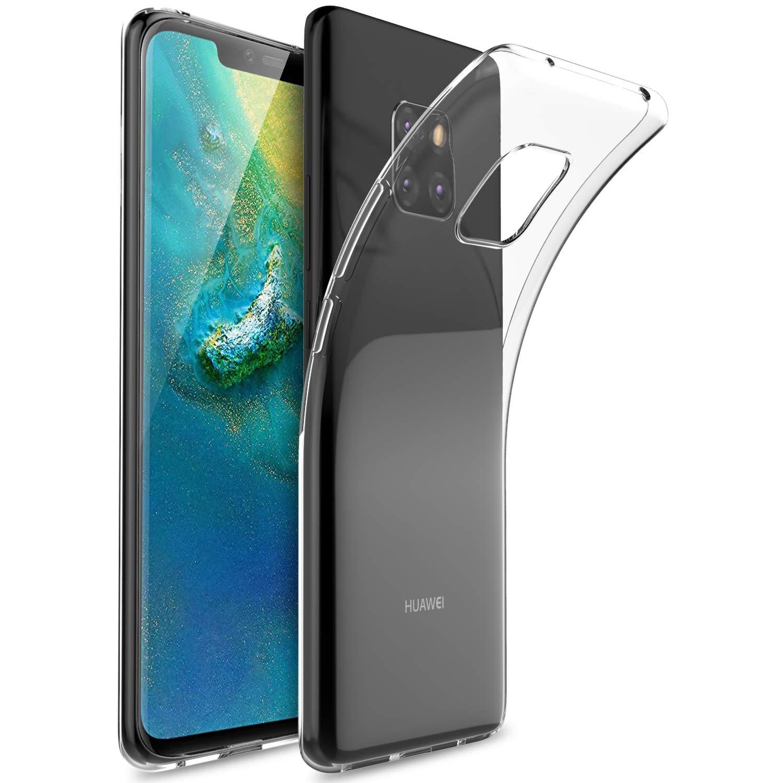 Huawei Mate 20 Pro case, KuGi Huawei Mate 20 Pro case,[Scratch Resistant] Premium Flexible Soft TPU Case for Huawei Mate 20 Pro Smartphone(Clear) Vostrostone