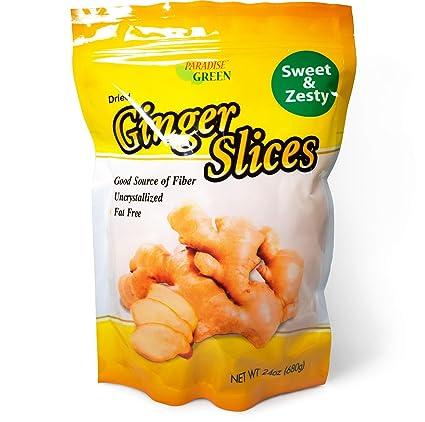 Forever uncrystallized Ginger Slices Verde (1) 24 oz. Bolsa ...