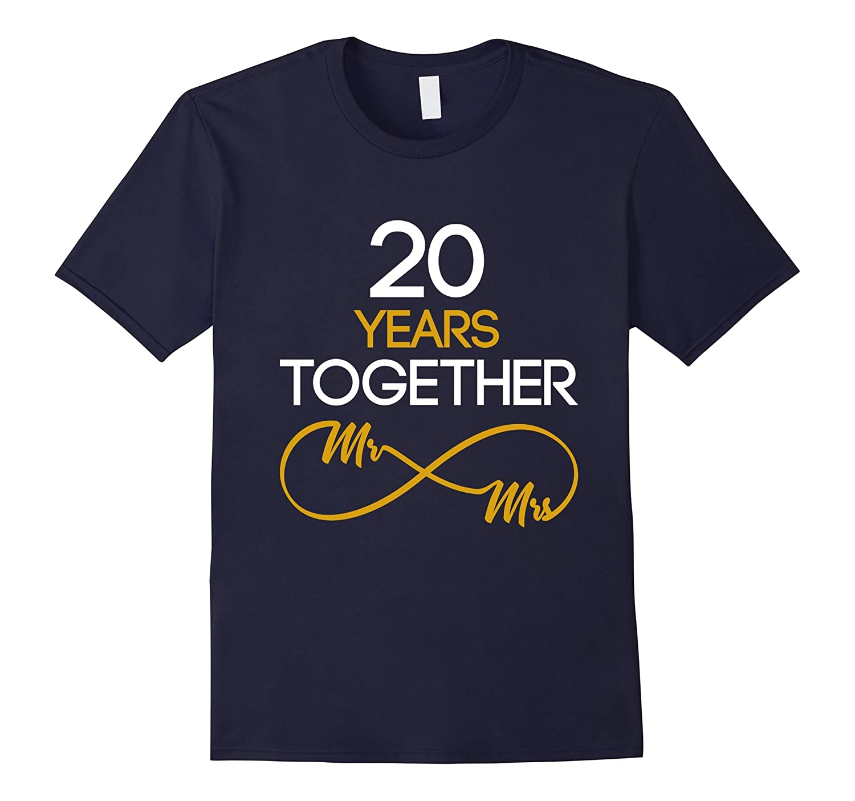20 Year Anniversary Couples Shirt-Vaci