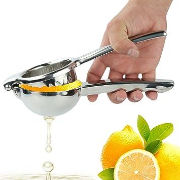 Ovos tamaño grande cítricos exprimidor de limones (fabricado en irrompible 18/8 acero inoxidable