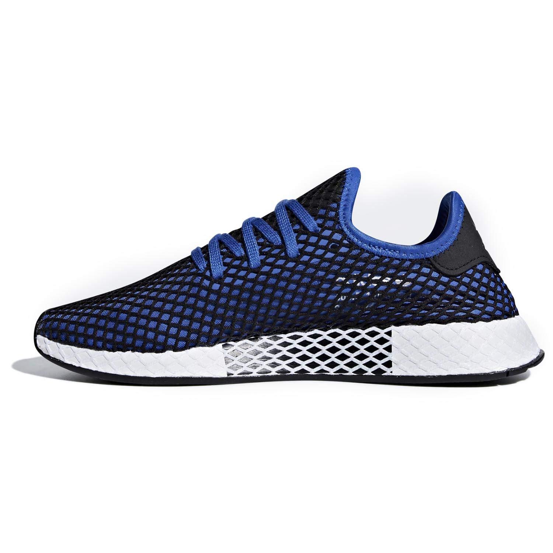 adidas Originals Deerupt Runner Shoe Men's Casual 9 Hi Res Blue Black