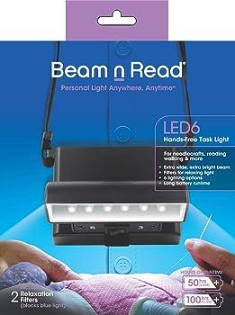 Beam n Read LED 6 Hands-Free Task Light