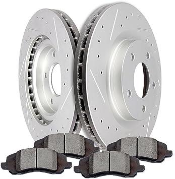 Rear Brake Rotors And Ceramic Pads Fits Sebring Avenger Compass Caliber Patriot