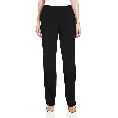 Briggs New York Women's Pull on Dress Pant Average Length & Short Length at Women's Clothing store