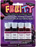 Lorann Oils 4 Fruity Flavors Dram Combo Pack