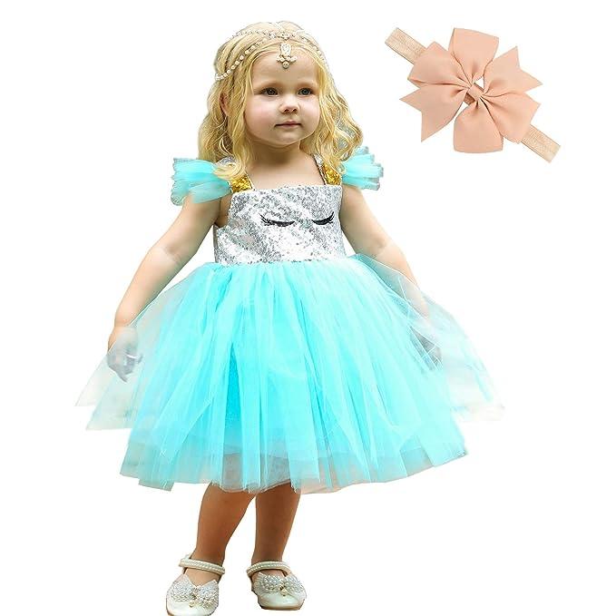 Amazon.com: Disfraz de princesa de unicornio para niñas ...