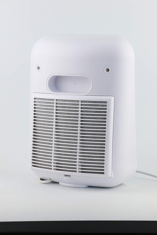 Nuvita Purificador de Aire Ionizador 1850 - Filtro HEPA Auténtico y Filtro de Carbón Activado - Elimina el Polvo Fino (PM 10 y PM 2,5), Polen, ...