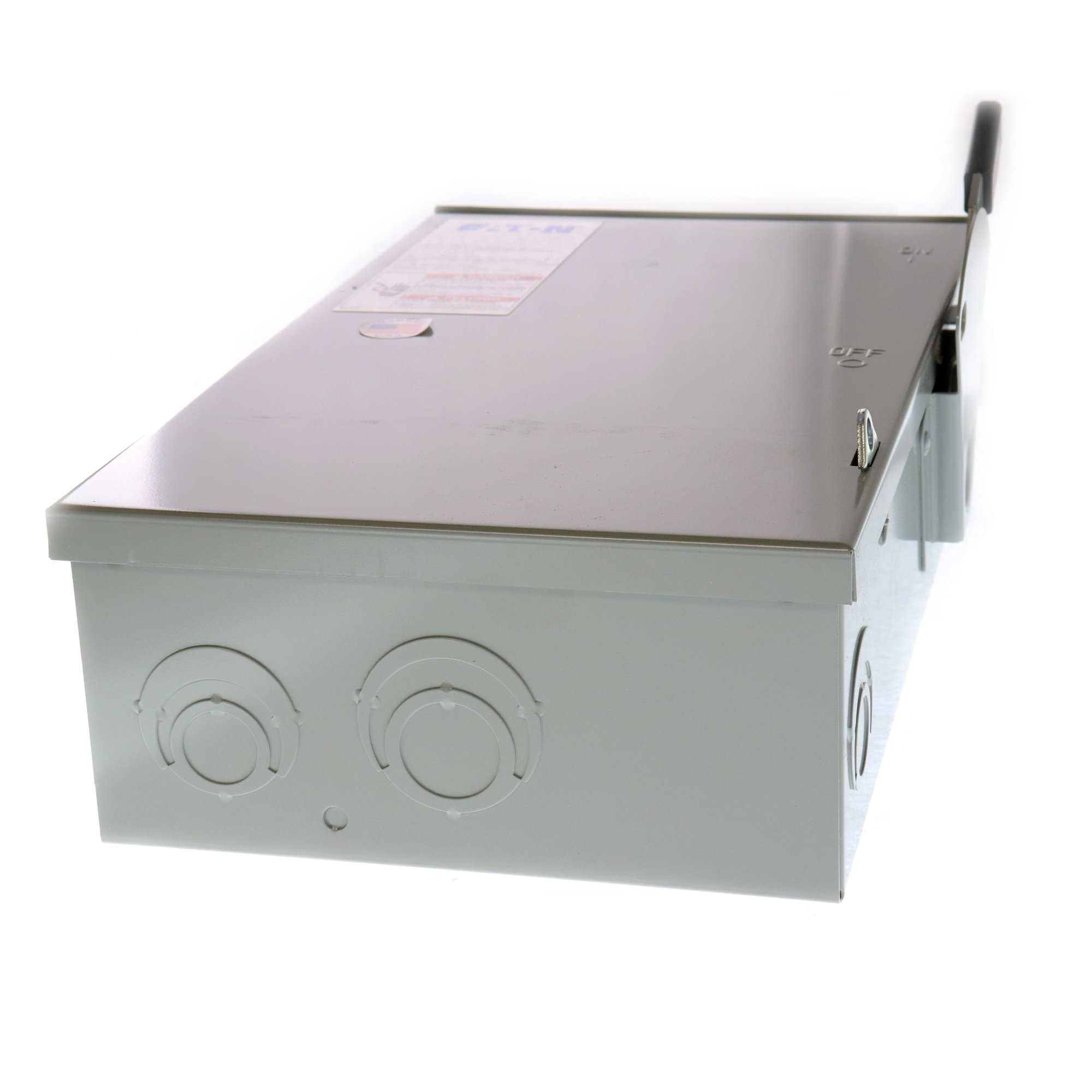 Eaton DG322NRB 4 Wire 3 Pole Fusible B Series General-Duty Safety Switch 240 Volt AC 60 Amp NEMA 3R by Eaton (Image #3)