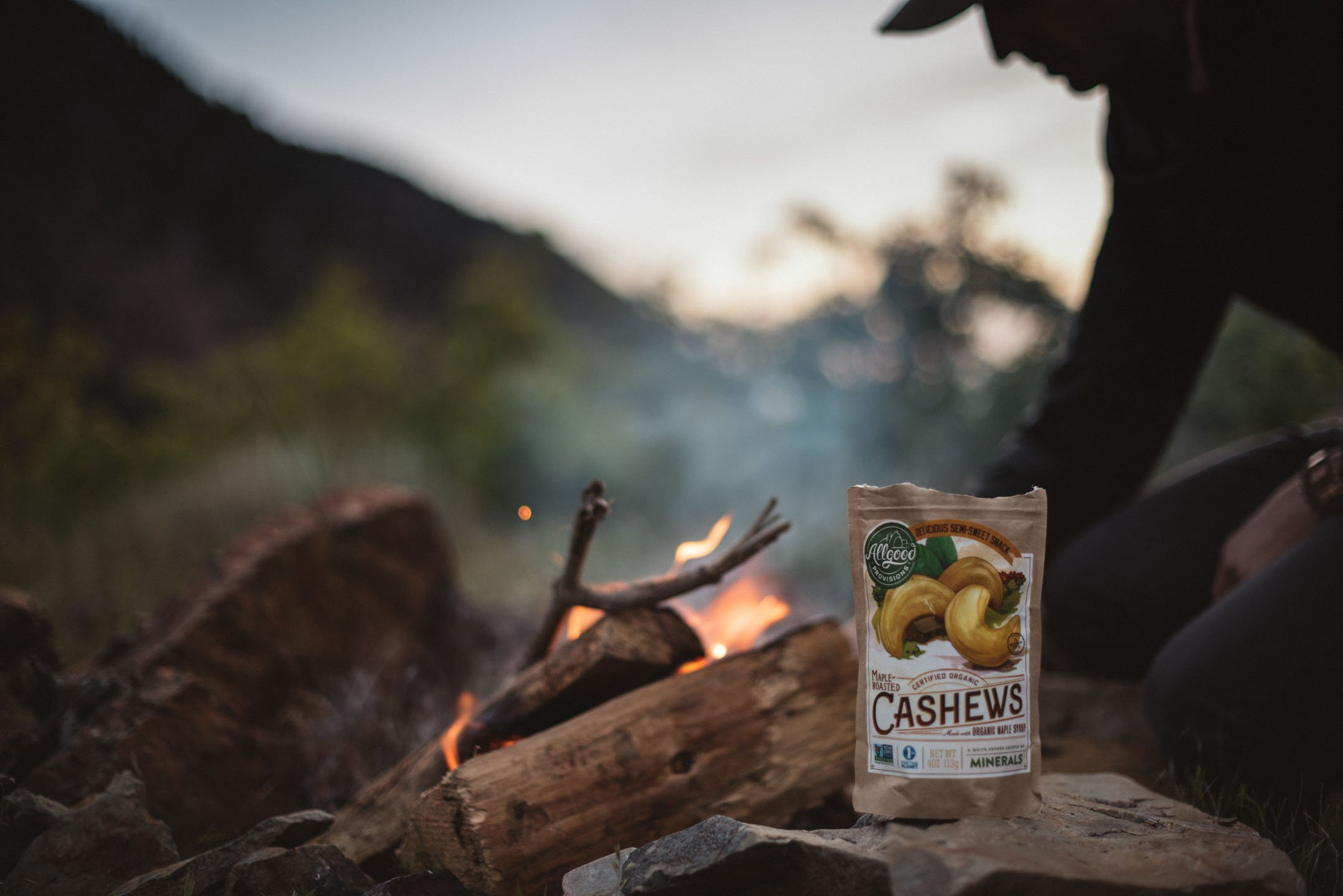 Organic Maple Roasted Cashews - 24 Pack (4oz EA)