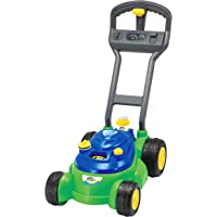Maxx Bubbles Bubble-N-Go Toy Mower with Refill Solution