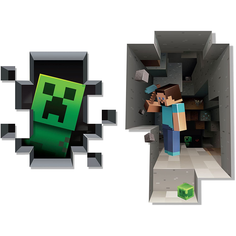 Minecraft wandtattoo reuniecollegenoetsele - Minecraft kinderzimmer ...