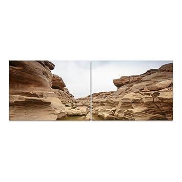 Dekoglas Glasbild Naturstein Acrylglas Bild Kuche Wandbild Flur