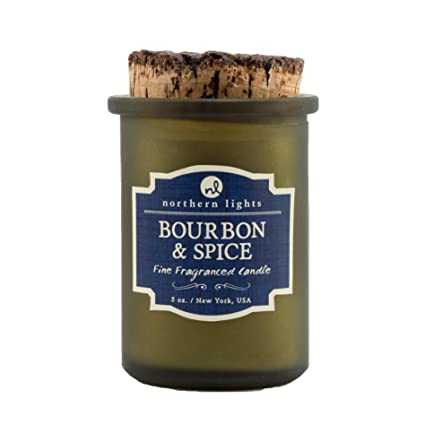 High Quality Northern Lights Candles Spirit Jar Candle, 5 Oz, Bourbon And Spice