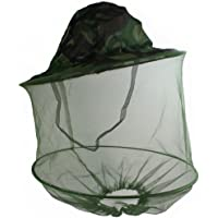 Sungpunet HOT Mosquito Fly Insect Bee Fishing Mask Face Protect Hat Net Camouflage