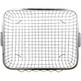Planet Heavy Stainless Steel Dish Drainer - Silver (Size :48 x 37 x18 cm) Lifetime Warrenty