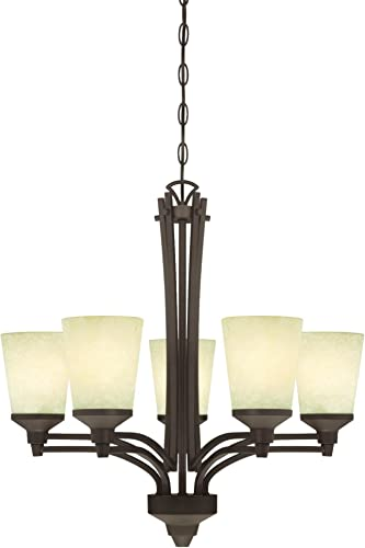 Westinghouse Lighting 6307100 Malvern Five-Light Indoor Chandelier
