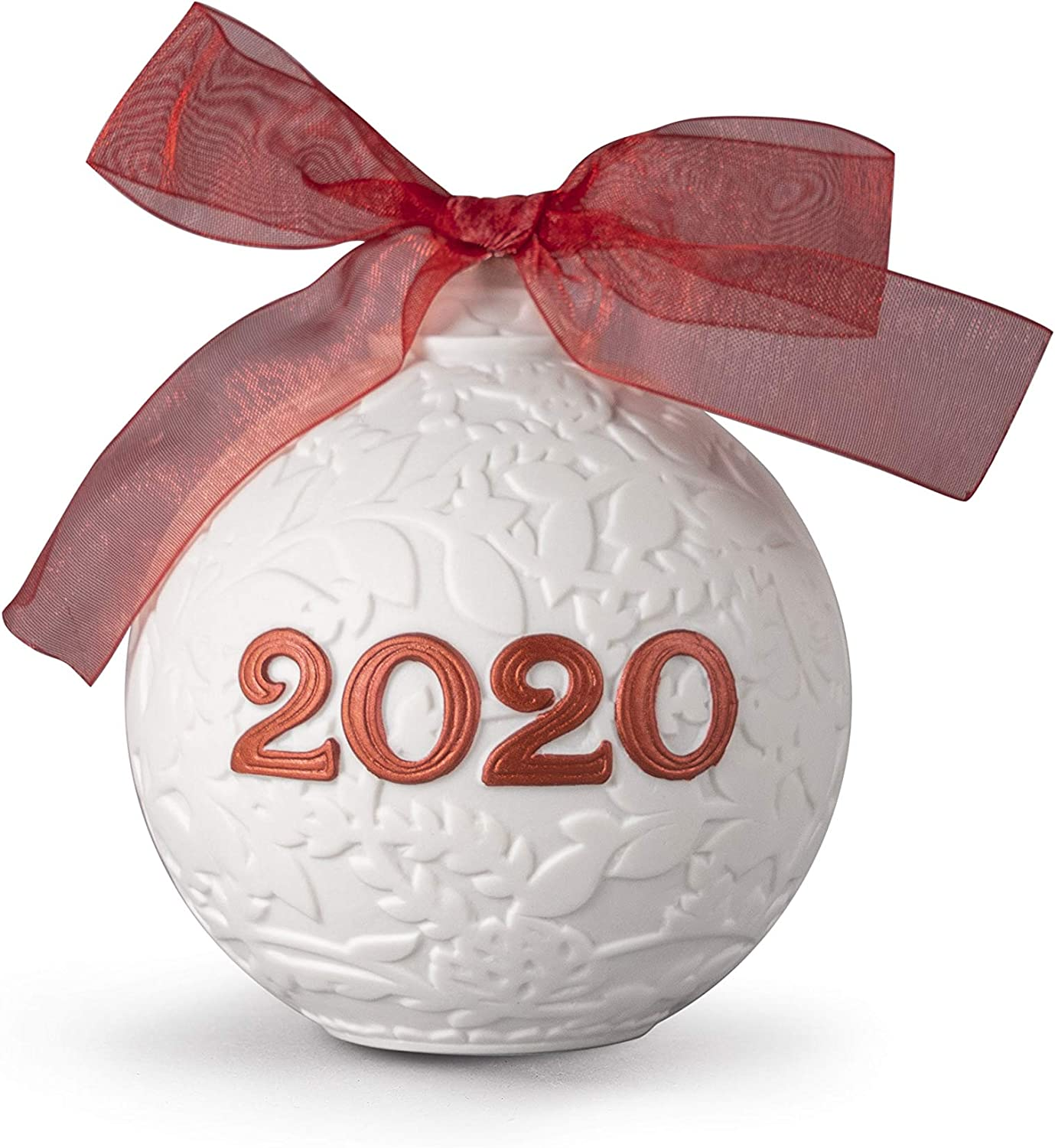 Be super welcome Max 56% OFF LLADRÓ 2020 Christmas Porcelain Red. Ball.