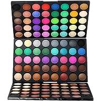 BAOBLADE 120 Colors Cosmetic Eyeshadow Matte Shimmer Eye Shadow Palette Makeup Set