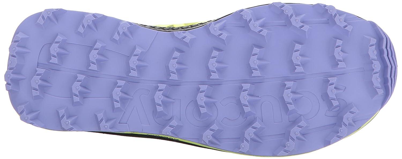 Saucony Women's Koa St Running-Shoes B01NCOW824 5 B(M) US|Citron Purple