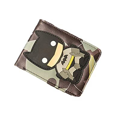 Amazon.com: Athena DC Comics Batman Chibi Mens Boys cartera ...