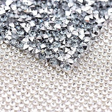 7c6bbdc725 Amazon.com: 240X400mm Crystal Rhinestone Trim Hotfix Strass Crystal ...