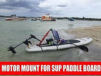 Kayak Trolling Motor eléctrico para Stand Up SUP – Tabla de paddle Motor Junta/Kayak