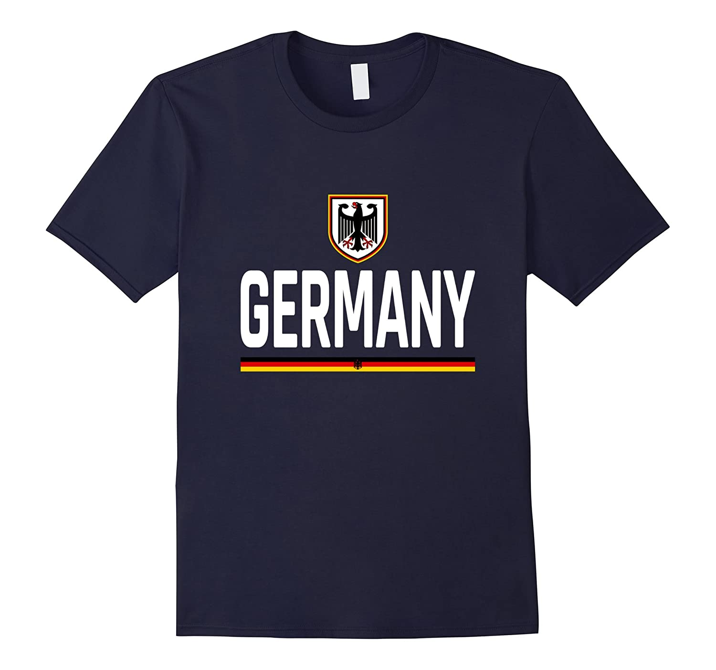 Deutschland Pride T-Shirt - Germany Flag Jersey T-Shirt 2017-Vaci