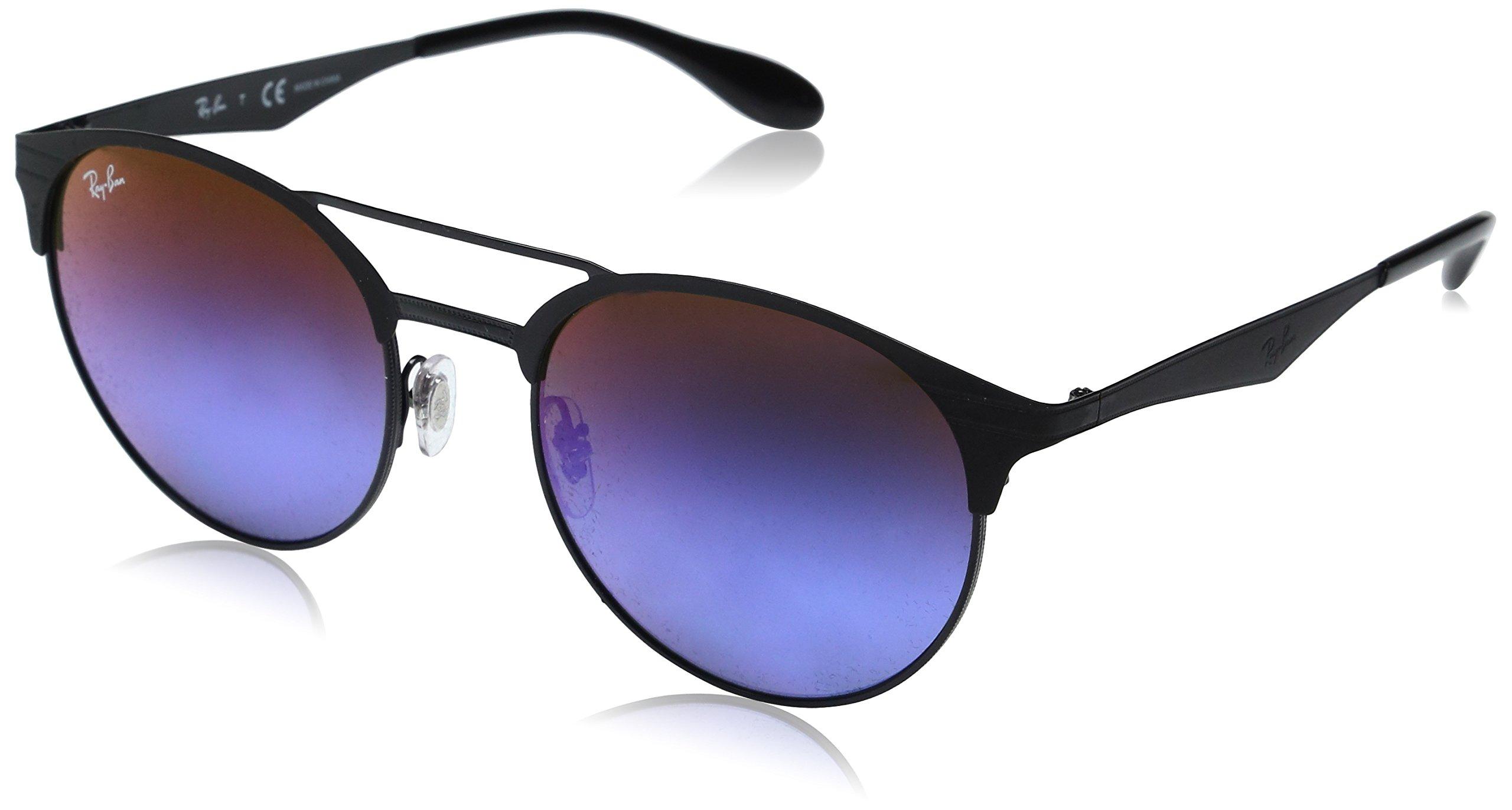 Ray-Ban Metal Unisex Round Sunglasses, Gold/Top Havana, 54 mm
