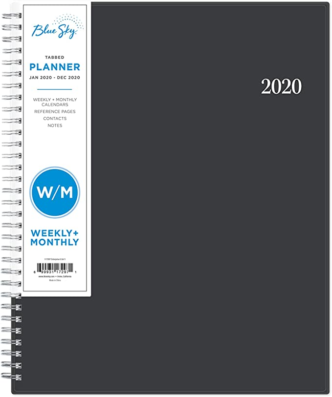 """2020 Weekly Planner with Flexible Cover 8.5/"""" x 11/"""" For Kids Adult 2020 Planner"""