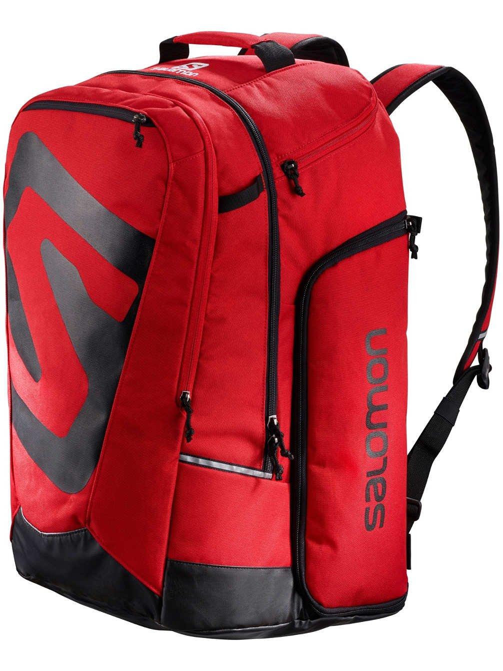 Salomon Extend Go-To-Snow Gear Bag, Barbados Cherry/Black