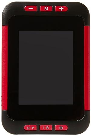 Cablematic - Detector de billetes falsos por IR y pantalla LCD portátil: Amazon.es: Electrónica
