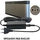 ABC Products® Remplacement Bose 17V - 20V, (17 - 20 Volt) Adaptateur Secteur Pile / Batterie Mur Chargeur Cable Pour SoundLink I, II, III, 1, 2, 3 Wireless Bluetooth Enceinte Portable / Speaker etc