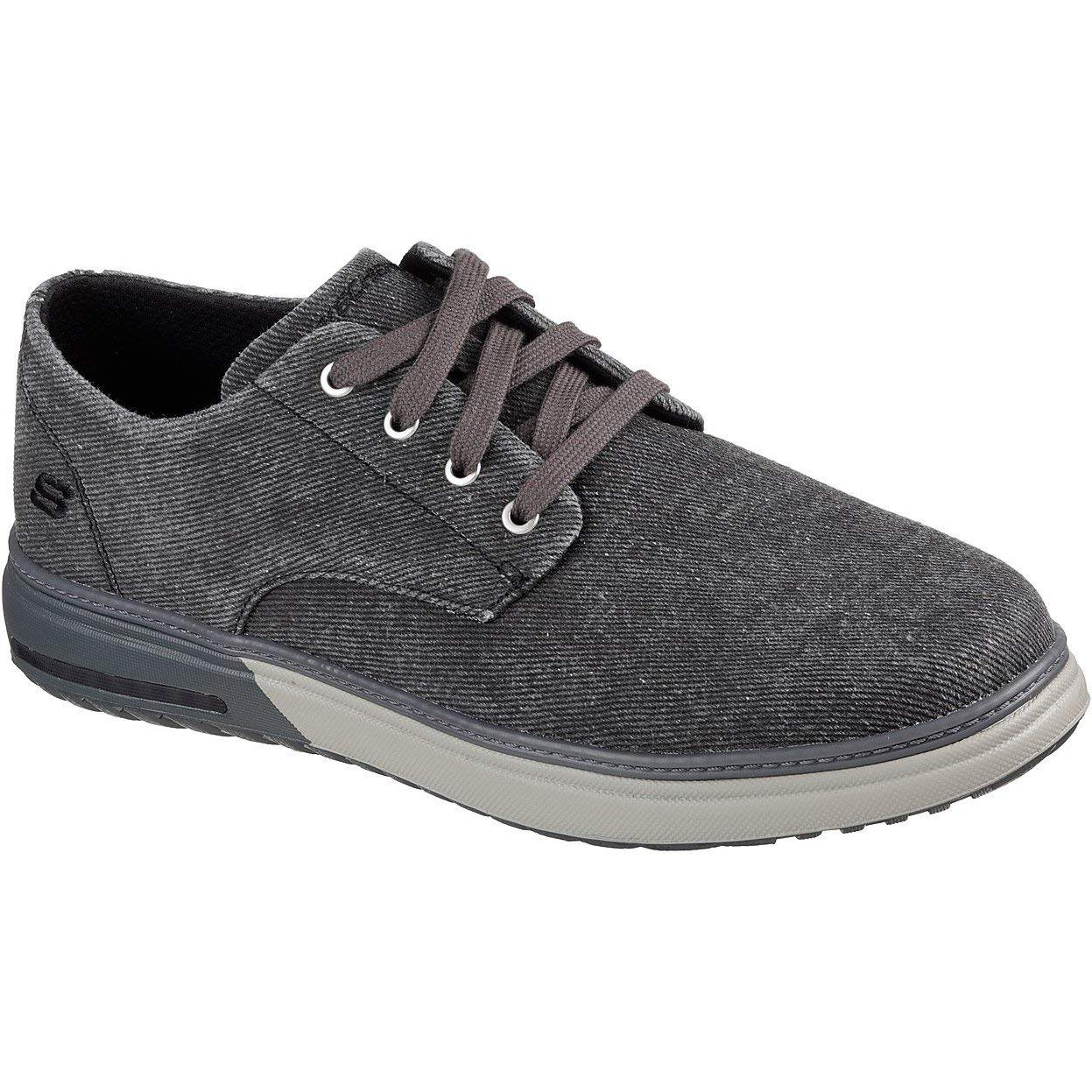 TALLA 42 EU. Skechers Mens Folten-Brisor Canvas Shoes