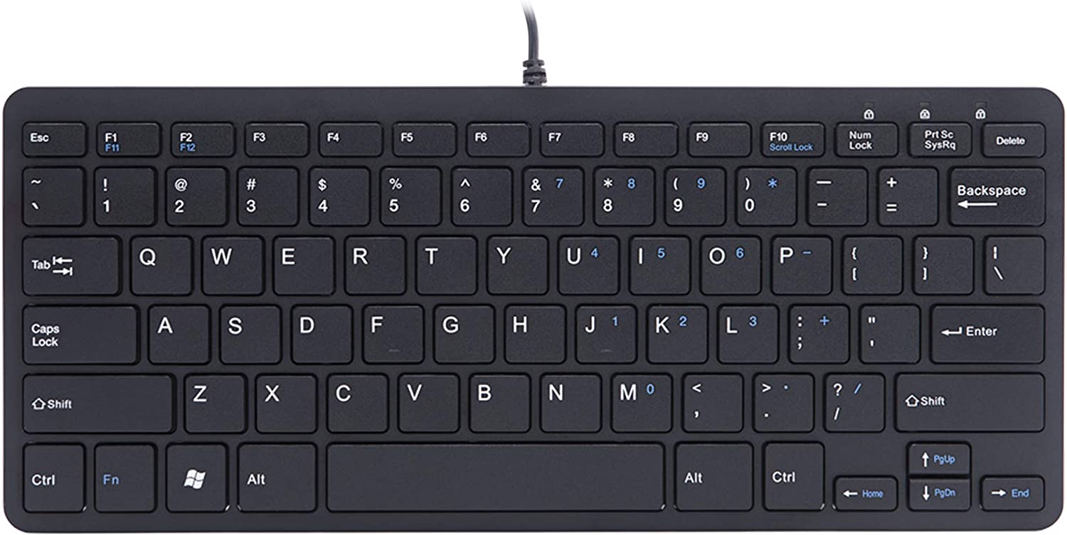 Linux US R-Go Tools Basic Mouse and Keyboard Combo US Mac QWERTY QWERTY // Wired//Windows