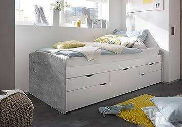 Lifestyle4living Bett Schlafbett Kojenbett Schlafzimmerbett