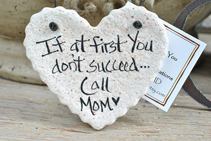 amazon com gifts for her salt dough mother s day gift heart handmade