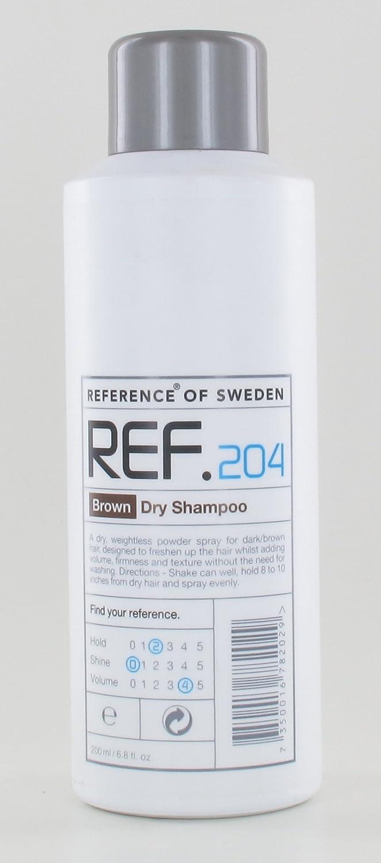 Amazon.com  REF .204 Brown Dry Shampoo 6.8oz  Beauty c337bfc22d
