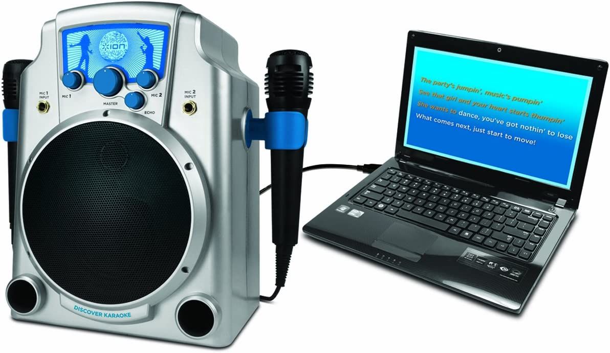 ION Audio IUK2 DISCOVER KARAOKE Karaoke System for Computer and iPad