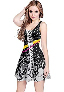 5a36853ef5 Amazon.com  CowCow Womens Music Notes Treble Clef Melody Sound Piano ...