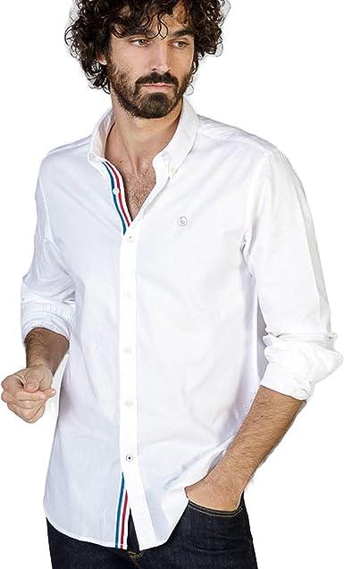 El Ganso 1050s180077 Camisa Casual, Blanco, Medium (Tamaño ...