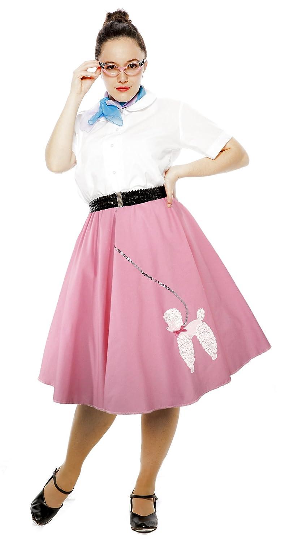Amazon 50s Pink Cotton Poodle Skirt